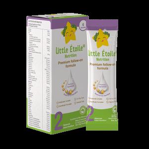 Gói sữa công thức ngôi sao nhỏ số 2 Little Étoile