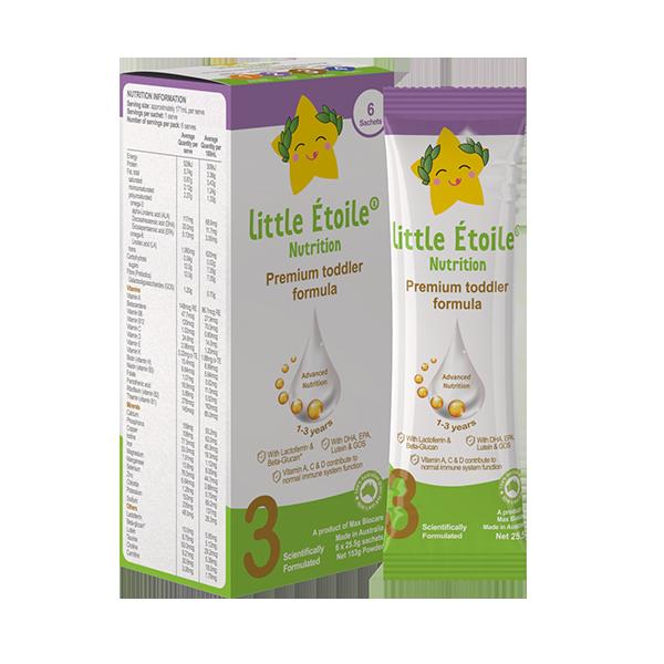Gói Sữa công thức Ngôi sao nhỏ Little Étoile số 3
