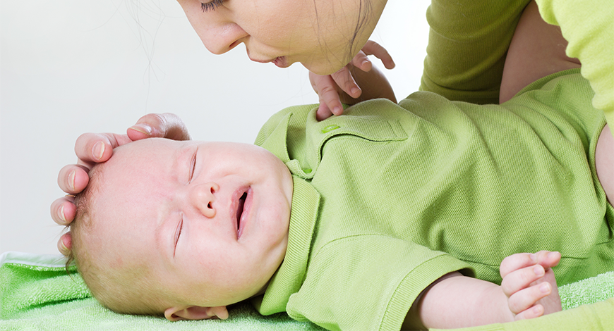 Hội chứng colic ở trẻ sơ sinh