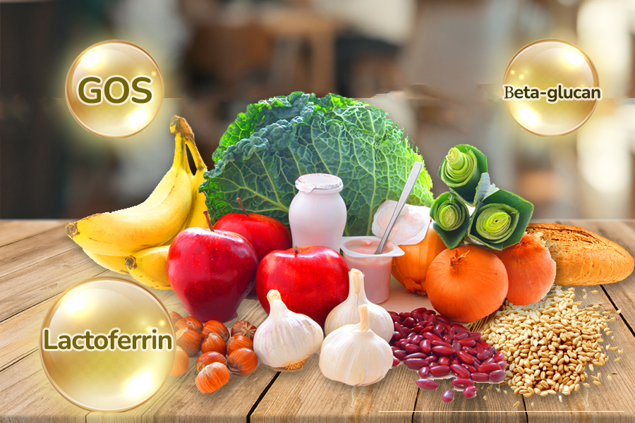 Prebiotics - Chất dinh dưỡng tăng cường hệ miễn dịch đường ruột