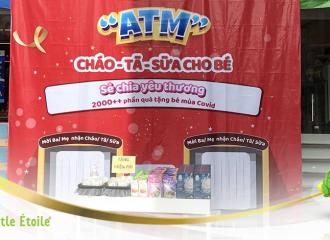 Little Estoile cùng Bibomart xây dựng ATM Cháo -Tã _ Sữa