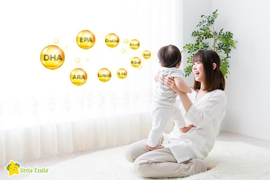 Các dưỡng chất thiết yếu cho sự phát triển não bộ của trẻ