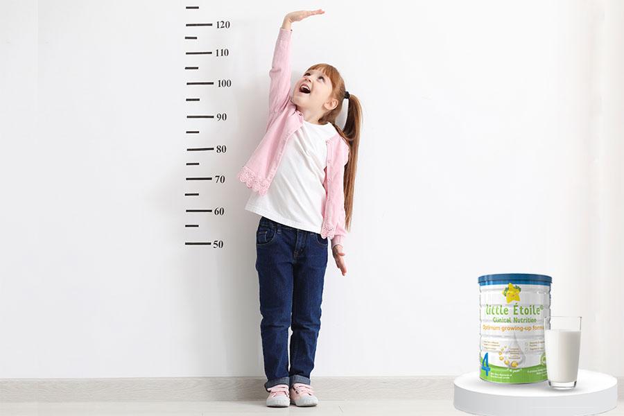 Sữa công thức Dinh dưỡng Little Étoile số 4 tăng chiều cao tối ưu cho bé