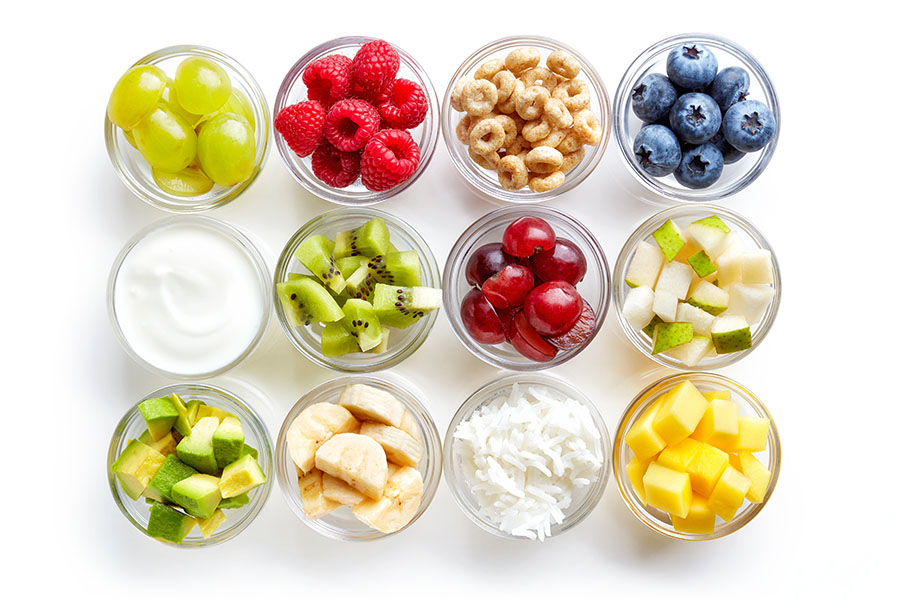 Bổ sung vitamin có trong hoa quả cho bé