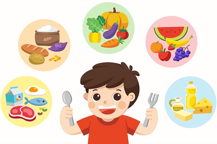 Các nhóm dinh dưỡng cần thiết cho trẻ