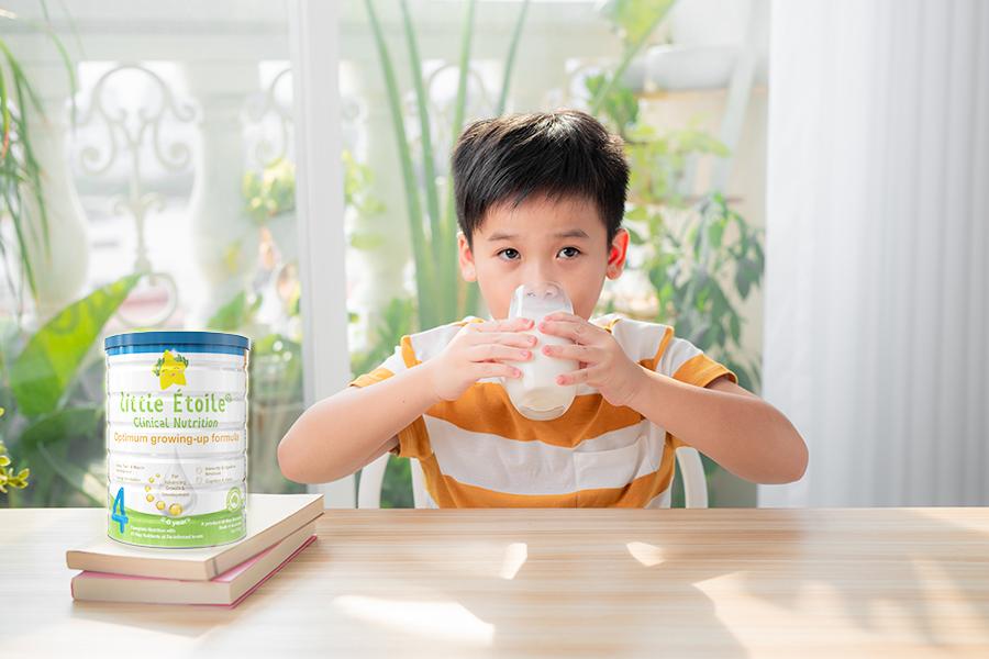 Sữa Dinh dưỡng Ngôi Sao Nhỏ Little Étoile đáp ứng nhu cầu dinh dưỡng tốt nhất cho trẻ
