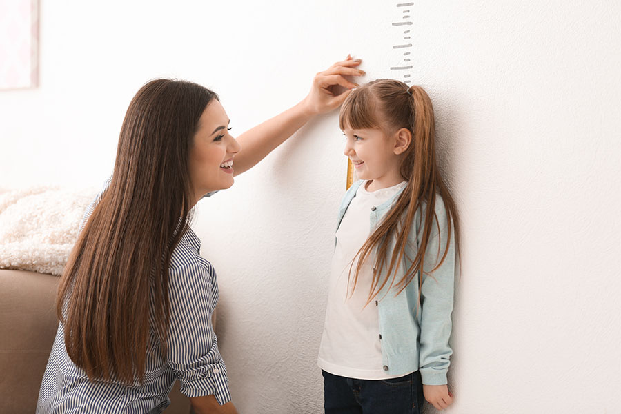 Trẻ cao hơn nếu được bổ sung đủ chất đúng và đủ