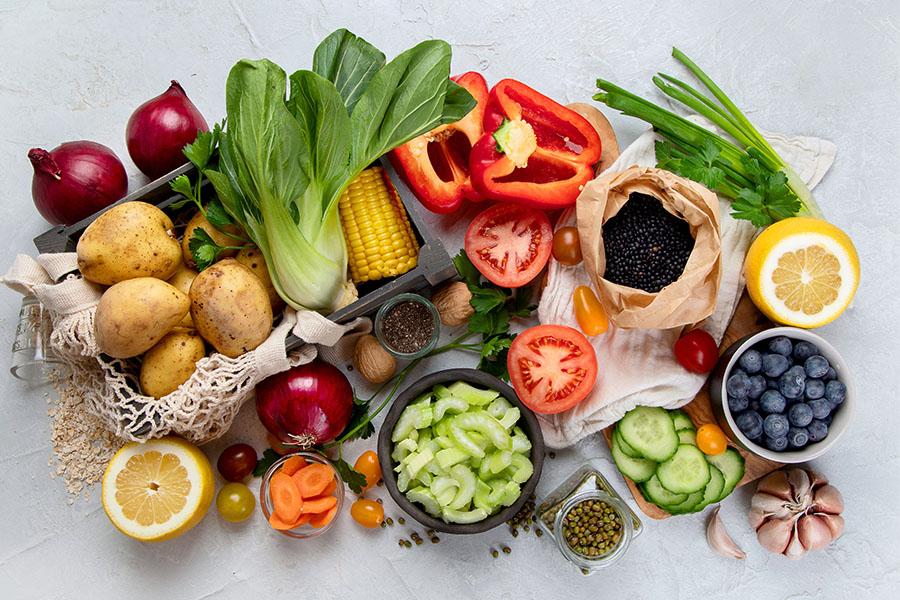 Dinh dưỡng đầy đủ với chế độ ăn hợp lý