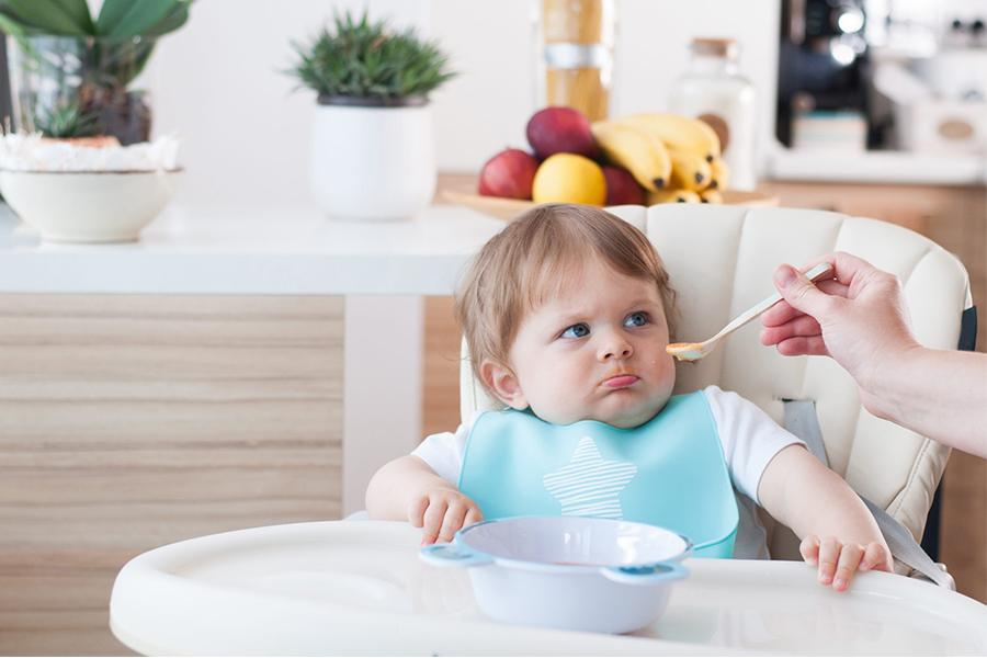 Trẻ không thích mùi vị và kết cấu của thức ăn