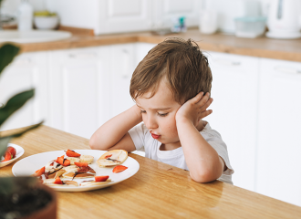 Trẻ lười ăn trong quá trình phát triển